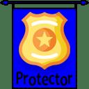 Rank 4 protector badge