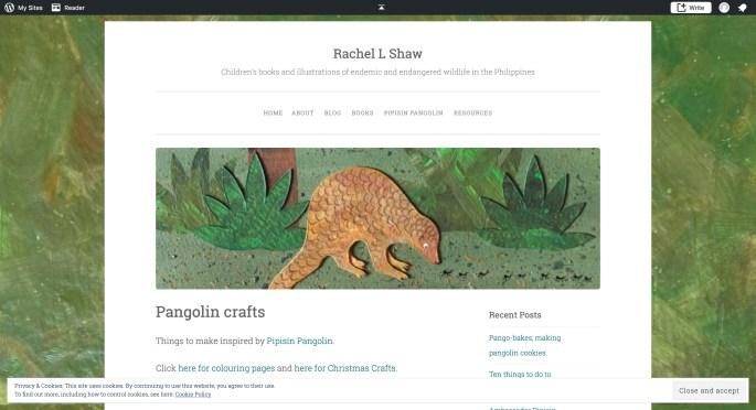Pangolin crafts