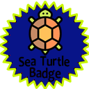 Sea Turtle badge