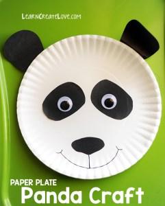 panda paper craft