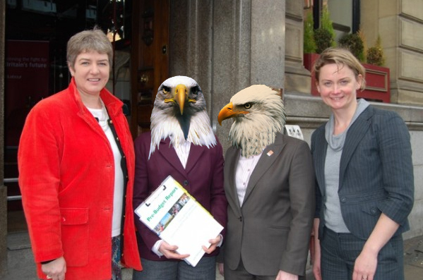 What if Angela and Maria Eagle were eagles?
