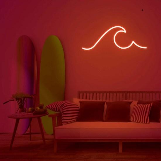 Neon surf