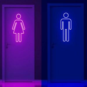 Neon wc