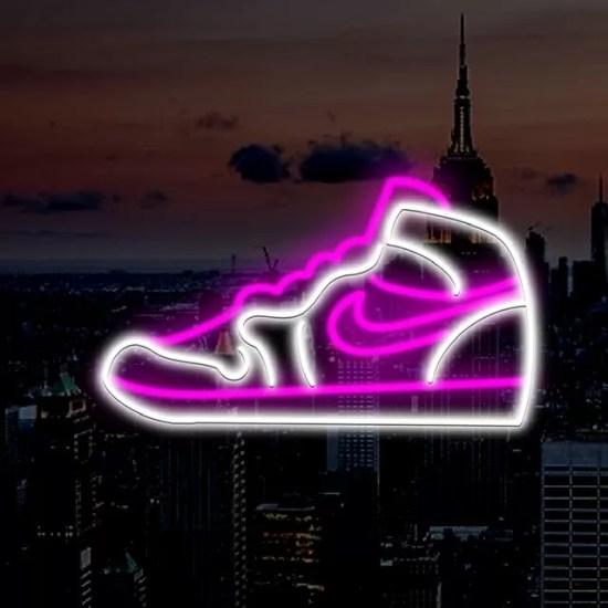 neon jordan