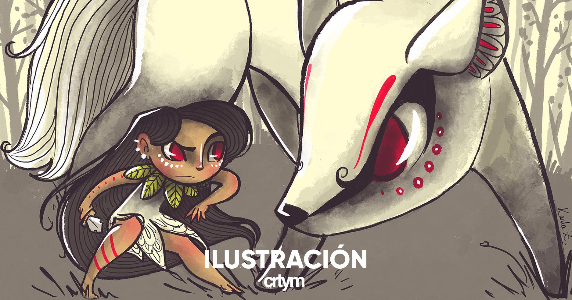 Técnicas de ilustración Capítulo 3: Karla Zepeda