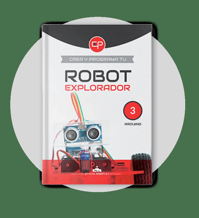Libro robot explorador