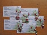 Visitekaartjes met winecharm