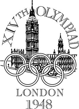 Logo de los Juegos Olímpicos de Londres, 1948