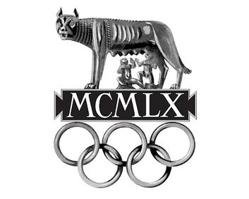 Logo de los Juegos Olímpicos de Roma, 1960