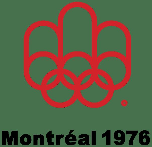 Logo de los Juegos Olímpicos de Montreal, 1976