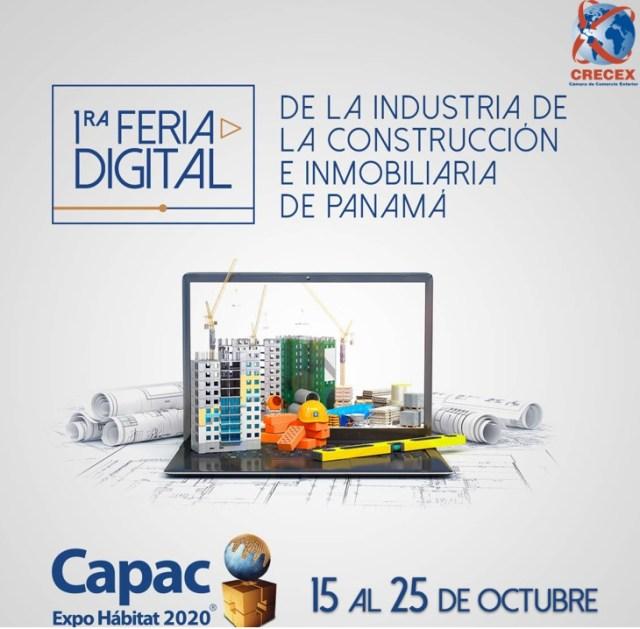 1ERA FERIA DIGITAL DE LA INDUSTRIA DE LA CONSTRUCCION E INMOBILIARIA DE PANAMA
