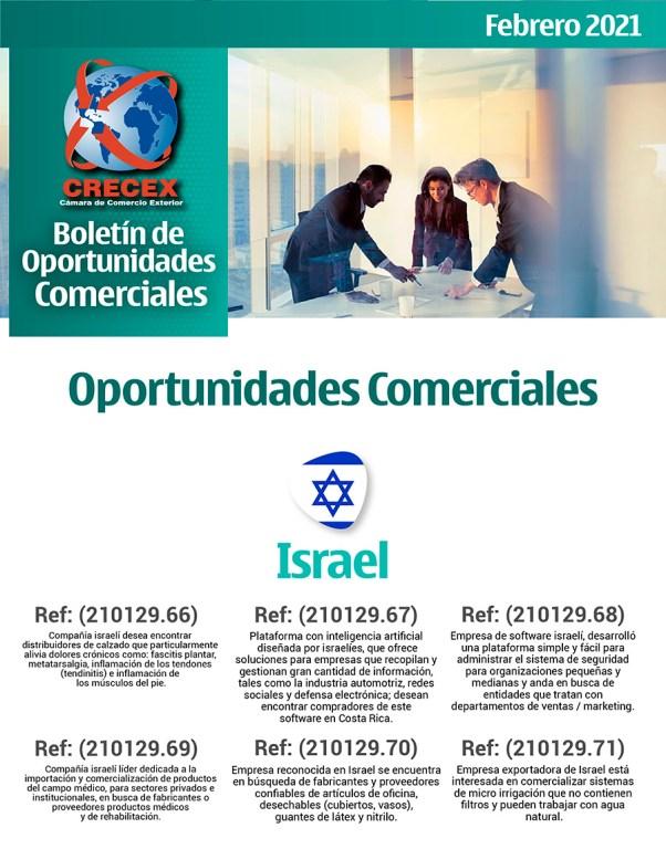 BOLETIN DE OPORTUNIDADES COMERCIALES