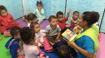 Crianças desenvolvem mais na creche do papai