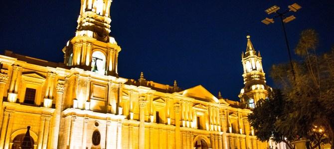 Uniendo Tacna con la famosa ciudad blanca de Arequipa