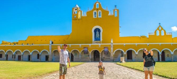 Izamal, la ciudad amarilla mexicana!!!