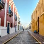 Campeche, la ciudad amurallada de México!