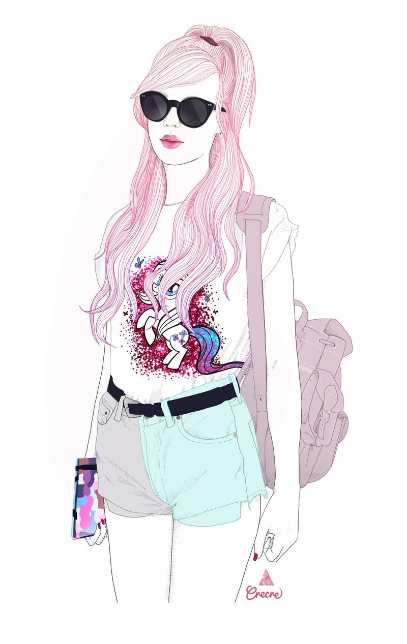 Amy Valentine Illustration Bloggeuse Crecre