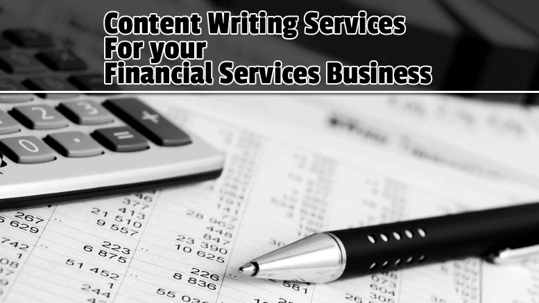 Content Writer For Your Financial Consulting Services Website