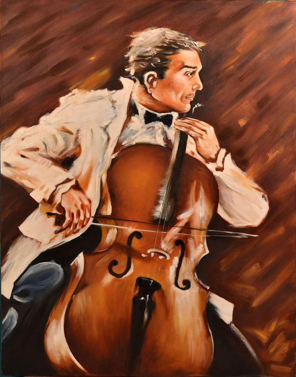 Musical – Oil Canvas Painting