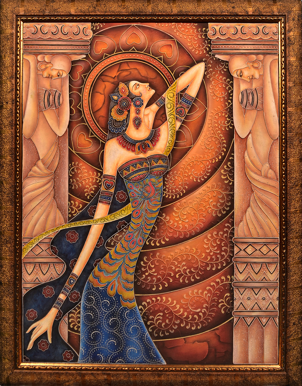 Lady – Relief Art