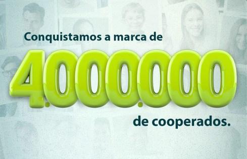 4.000.000 de cooperados
