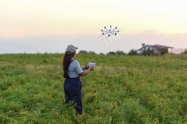 drones no agronegócio