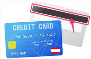 クレジットカード磁気