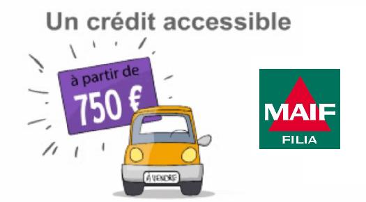 crédit auto Filia Maif