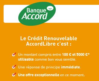 Accord Libre Auchan Banque Accord
