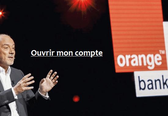 ouvrir mon compte orange bank en ligne