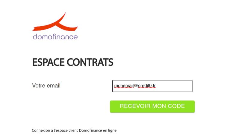 espace client domofinance
