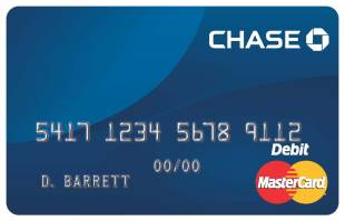 Chase の Master card