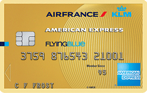 Flying Blue American Express Gold aanvragen