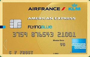 Flying Blue American Express Gold creditcard aanvragen