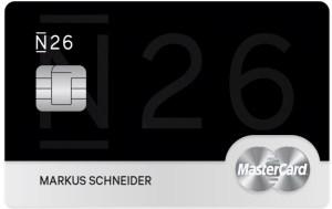 N26 black mastercard aanvragen
