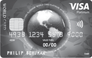 Visa World Card Platinum aanvragen