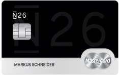 N26 black creditcard aanvragen