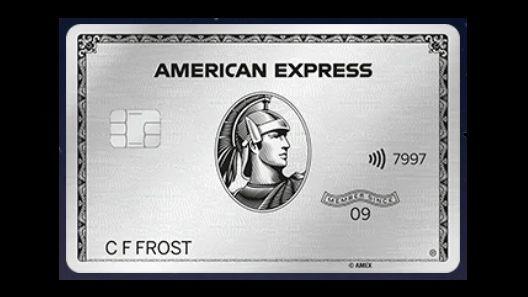 american express platinum metal
