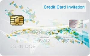 Credit Card Invitation Logo