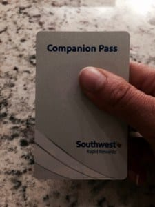 My Southwest Companion Pass