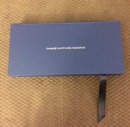 Chase Sapphire Reserve Box