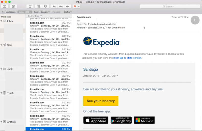 Expedia IT Problems