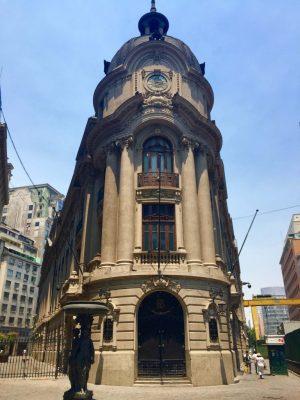 Stock Exchange Santiago, Chile