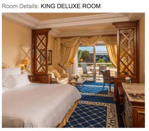 King Room Waldorf Astoria Rome Cavalieri