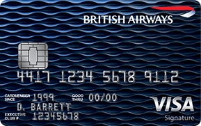 British Airways Visa Signature from Chase