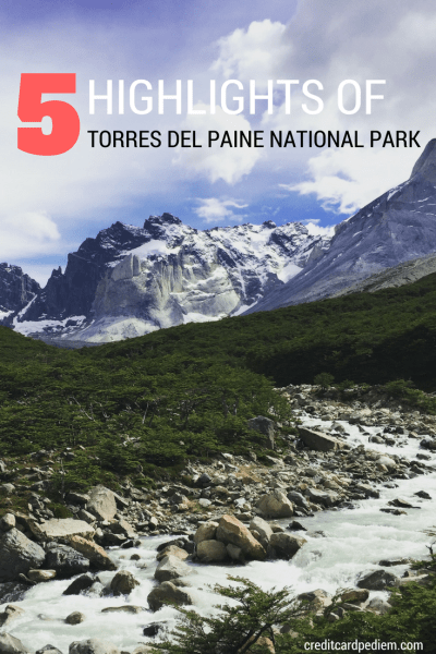 5 Highlights of Torres del Paine National Park
