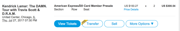 ticketmaster sell tickets button