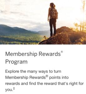 American Express Membership Rewards
