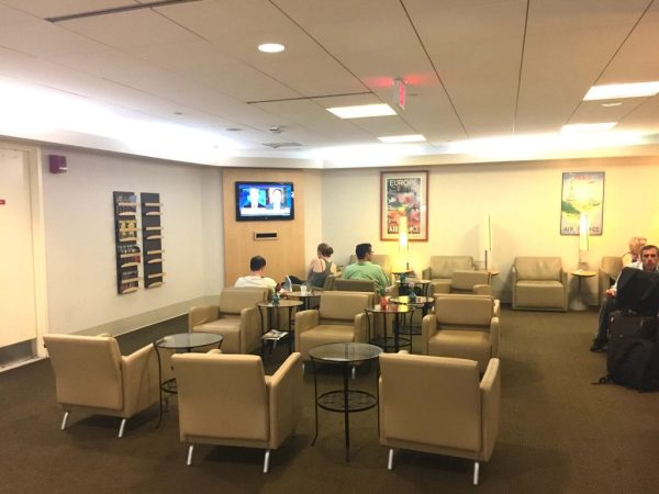 Air France Lounge Boston Logan