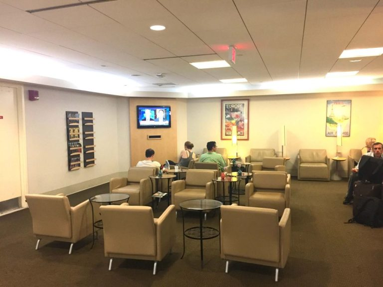 Air France Lounge Boston Logan